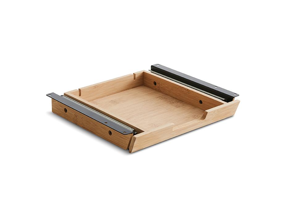 Bambusskuffe til dit skrivebord