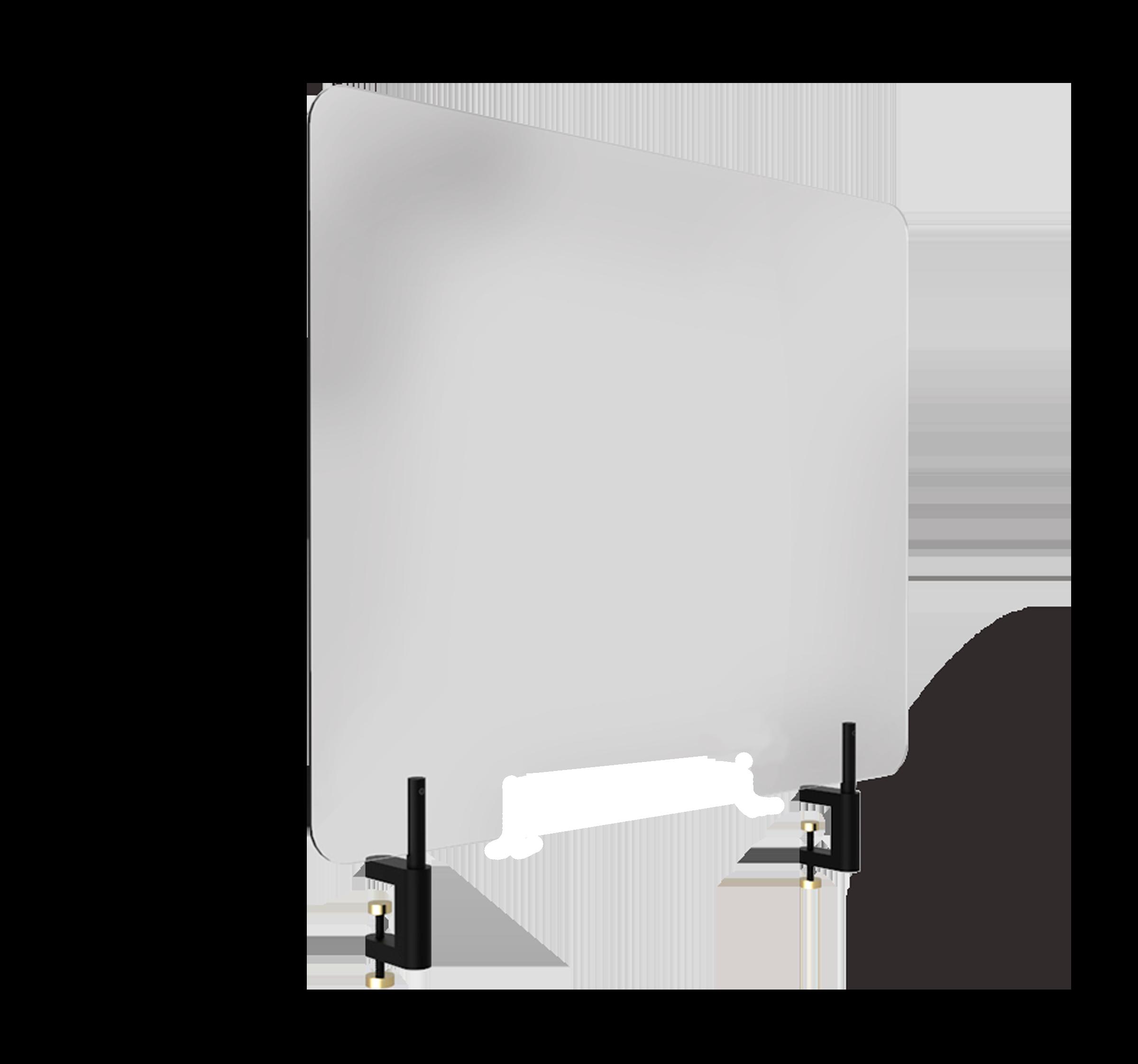 Smitteafskærmning monteret med APTO